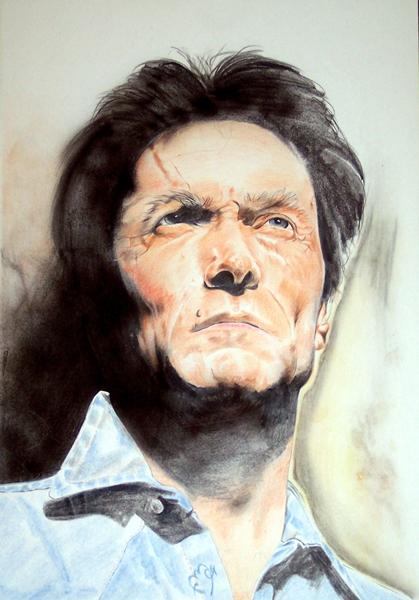 Clint Eastwood par Colorfarma